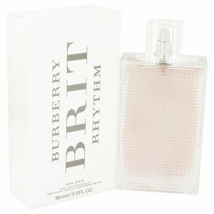 BURBERRY BRIT RHYTHM EDT SPRAY FOR WOMEN 3 oz