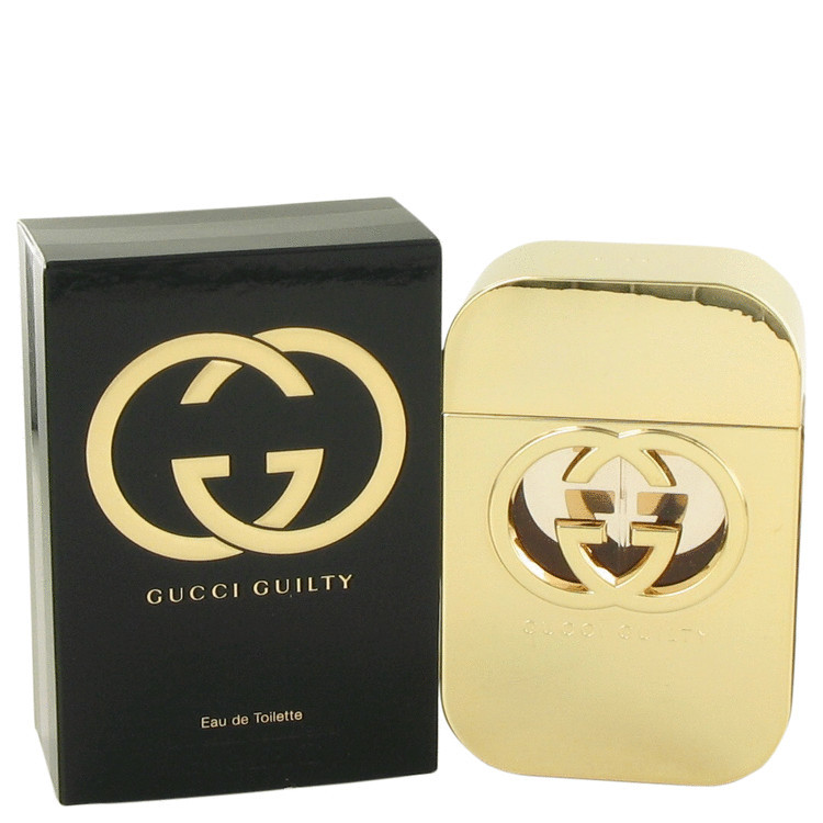 GUCCI GUILTY by GUCCI EDT SPRAY  FOR WOMEN 2.5 oz