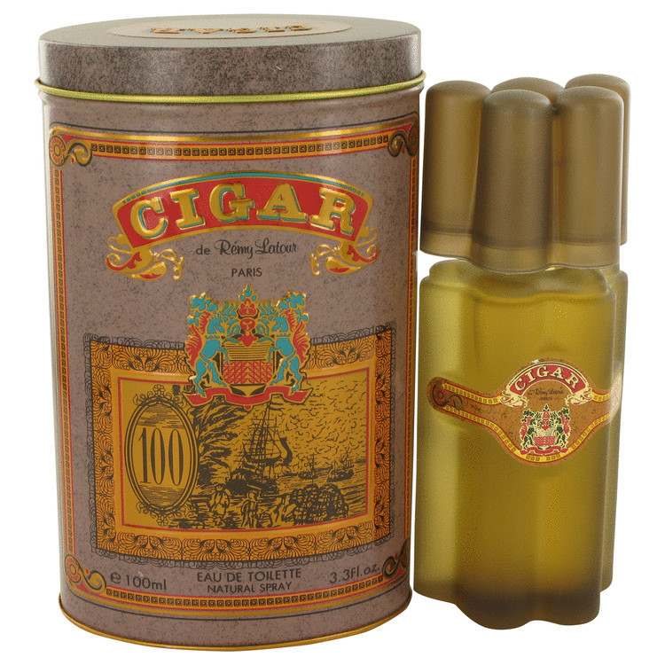 CIGAR for Men By Remy Latour EDT Spray 3.4 oz