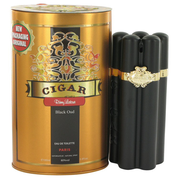 CIGAR BLACK OUD by Remy Latour 3.4 oz EDT Men's Spray