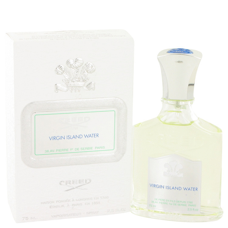 CREED VIRGIN ISLAND WATER for Men by CREED 2.5oz EDT Spray