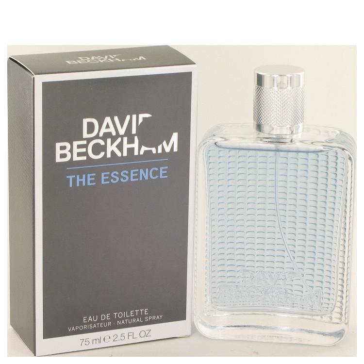 DAVID BECKHAM THE ESSENCE by David Beckham 2.5 oz for Men EDT Spray