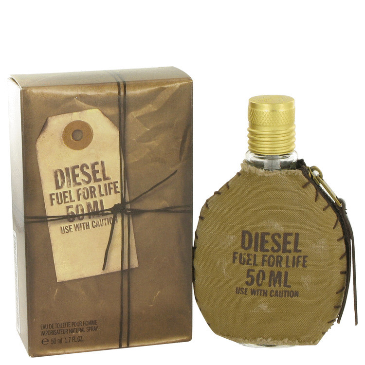 DIESEL FUEL forLIFE SPIRT by Diesel 1.7oz for Men EDT Spray