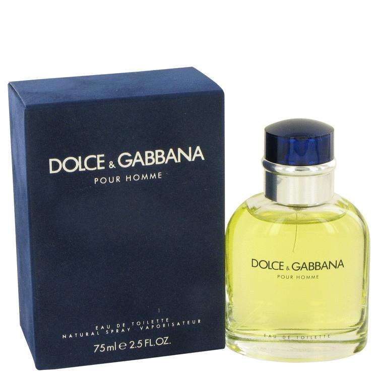 DOLCE GABBANA by Dolce & Gabbana EDT Men Spray 2.5 oz