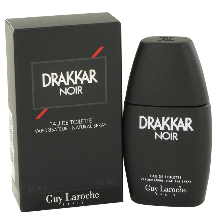DRAKKAR NOIR by Guy Laroche 1 oz EDT Men's Spray