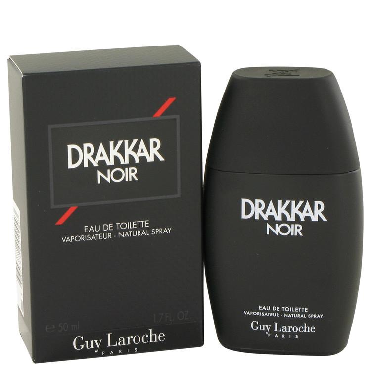 DRAKKAR NOIR  Men's Cologne by Guy Laroche 1.7 oz EDT Spray