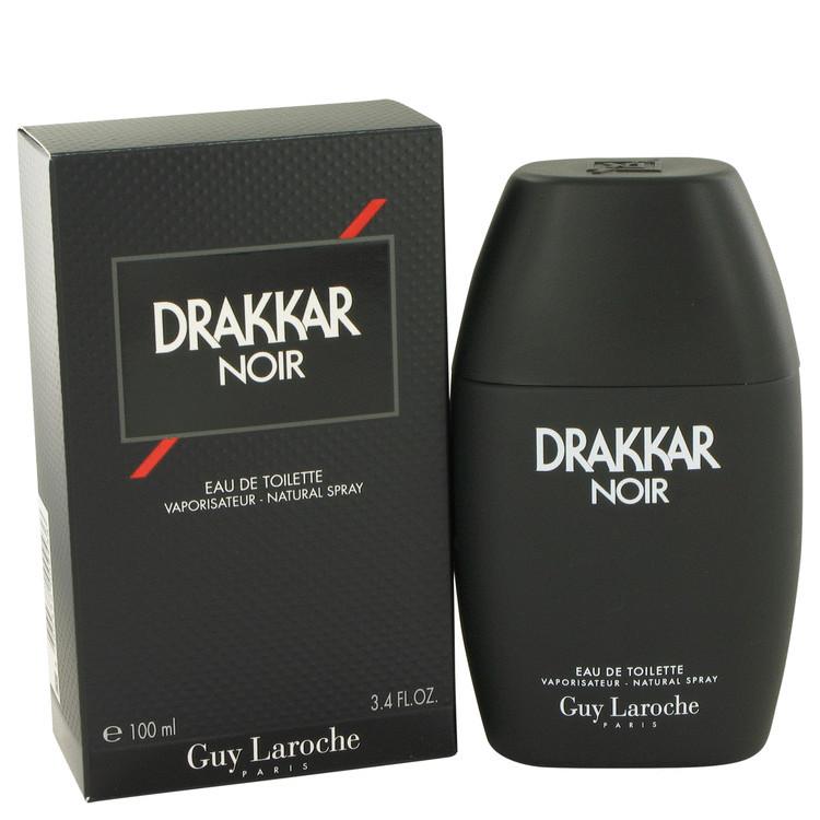DRAKKAR NOIR by Guy Laroche 3.4 oz for Men EDT Spray