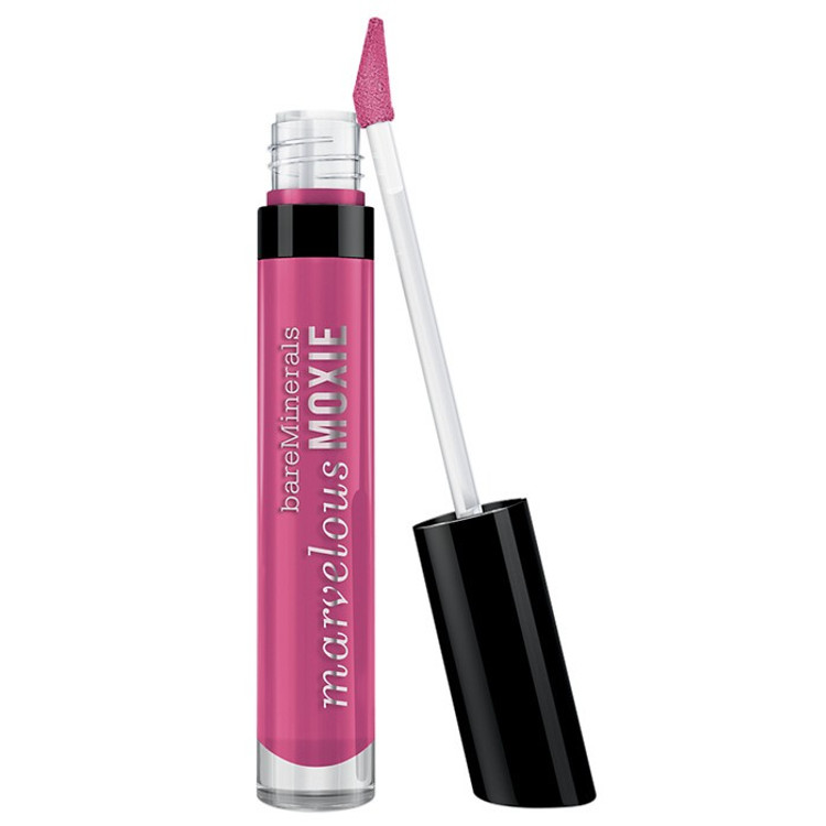 bareMinerals Marvelous Moxie Lipgloss Life Of The Party 0.15 oz Bubble Gum Pink