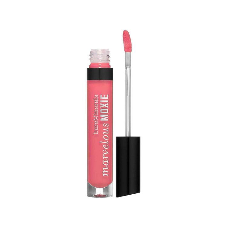bareMinerals Marvelous Moxie Lipgloss Hot Shot 0.15 oz Flamingo Pink
