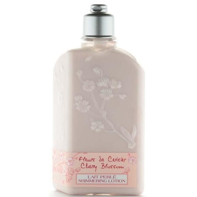 L'Occitane En Provence Cherry Blossom Shimmering Body Lotion 8.4 oz