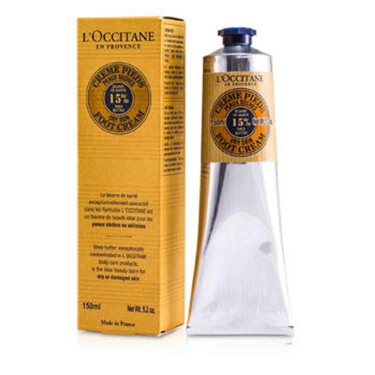 L'Occitane Shea Butter Foot Cream for Dry Skin 5 oz