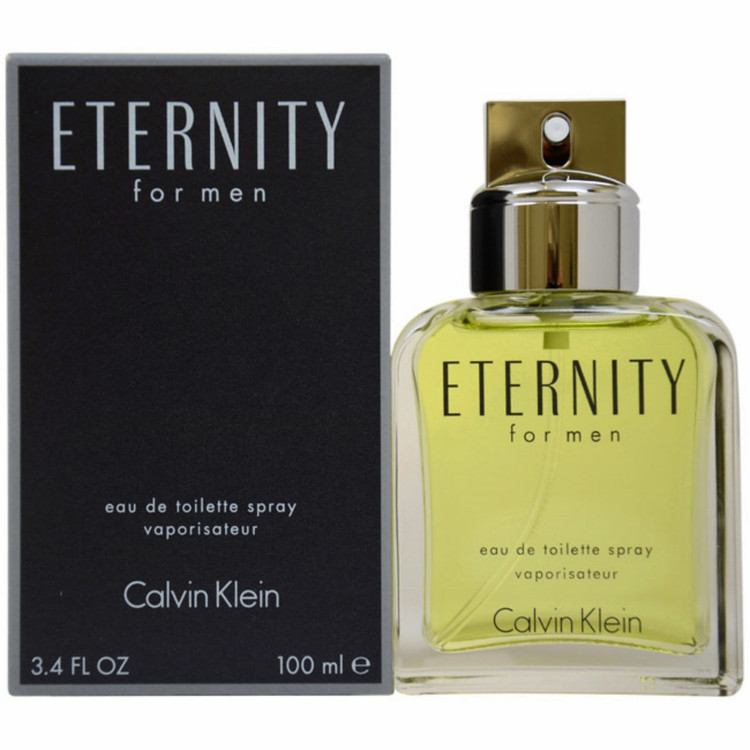 Eternity Cologne for Men Edt Spray 3.4 oz