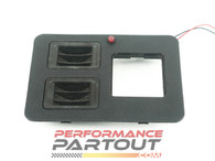 Center console switch plate w/ coin trays GVR4