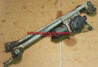 Windshield wiper motor linkage assembly WRX 02-07