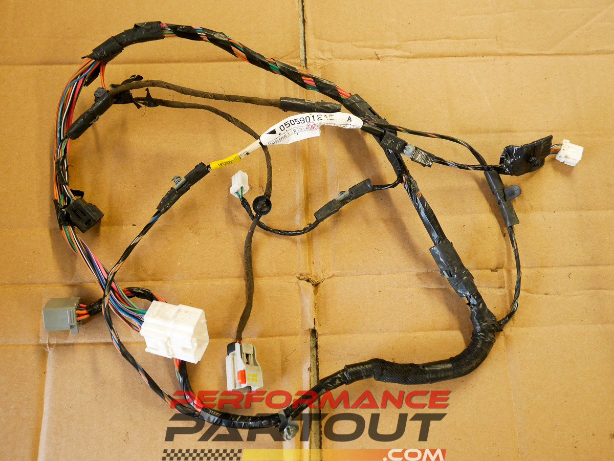 Door Wiring Harness Passenger Right Front Magnum Charger 300 05 07 Wire Image 1