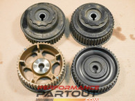 Cam gear pulley set WRX 02-05 left right intake exhaust