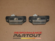 License plate lights 2G DSM