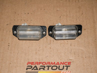 Lisc plate lights for 97-99 2G DSM