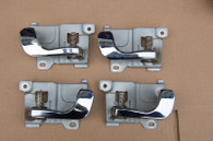 Door interior latch handle set GVR4 chrome