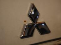 Mitsubishi chrome emblem