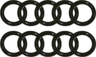 Beaver 112 Euro Type Cylinder Valve O-rings. Pack of 10.