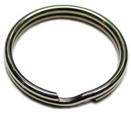 "Dive Rite 1 1/2"" Stainless Steel Split Ring. 3 Pack."
