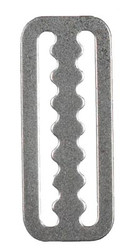 "Dive Rite 2"" Serrated Belt Slide S/S. Pack of 2."