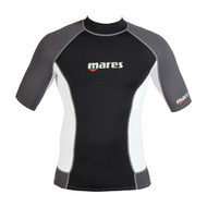 Mares Mens Short Sleeve Trilastic Watersports Rash Guard