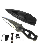 Beaver Stiletto Divers BCD/Hose Knife