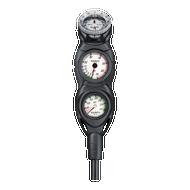 Suunto CB-Three-in-Line Dive Console. Pressure, Depth & Compass