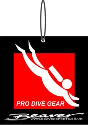 Beaver Pro Diver Gear Baggage Tag