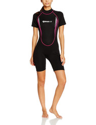 Mares Manta Ladies Shorty in Black/Pink - Size Choice