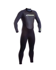 Typhoon Storm Mens 5mm Grey Wetsuit - Size MW
