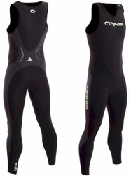 Typhoon Storm Long John in Black - Size Choice