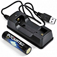 Tovatec IT18650 Battery & Charger Set