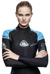 Waterproof Womens Skin Rash guard - Size Choice