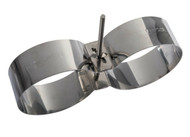 Mares Tank Band Set Stainless Steel - XR Line - Size Choice