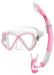 Mares Pirate 2 Junior Mask & Snorkel Set in Pink