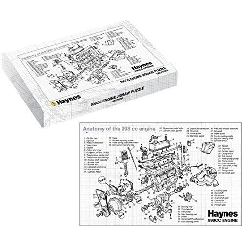 Haynes Classic Mini 998cc Car Engine 1000pcs Jigsaw Puzzle in Gift ...