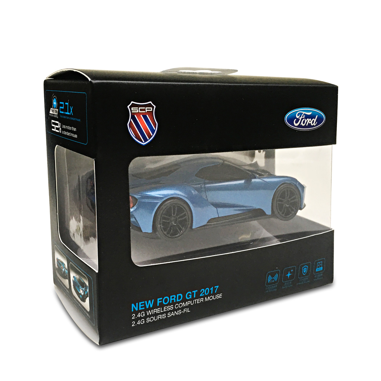 Official Ford GT Sports Car 2017 Wireless Computer Mouse ...