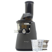Kuvings C9500 Whole Fruit Juicer in Glossy Gunmetal with Accessory Pack