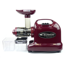 Samson Advanced Juicer 9007 Burgundy