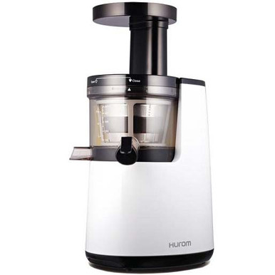 Hurom Premium Vertical Cold Press Juicer Hh Elite : Hurom HU 700 1st Generation Slow Juicer in Pearl White - Juicers