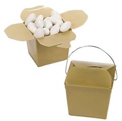 [SALE] Take-out Boxes: Gold