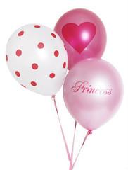 Balloons, Pink Princess