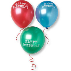 Balloons, Happy Birthday