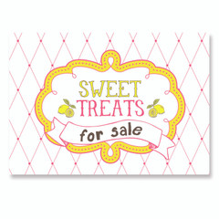 Sign, Sweet Treats