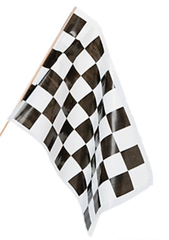 Speed Racer Checkered Flags