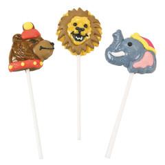 Circus Animal Lollipops