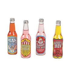 Carnival Drink Bottle Labels
